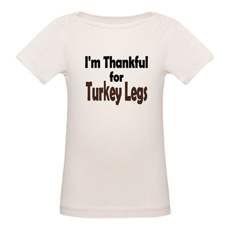 Thanksgiving Turkey Leg Organic Baby T-Shirt