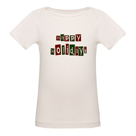 Happy Holidays Organic Baby T-Shirt