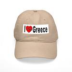 I Love Greece Cap