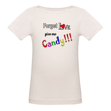 Give Me Candy Organic Baby T-Shirt