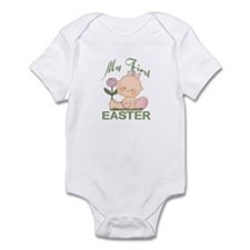 1st Easter Baby Girl Infant Bodysuit