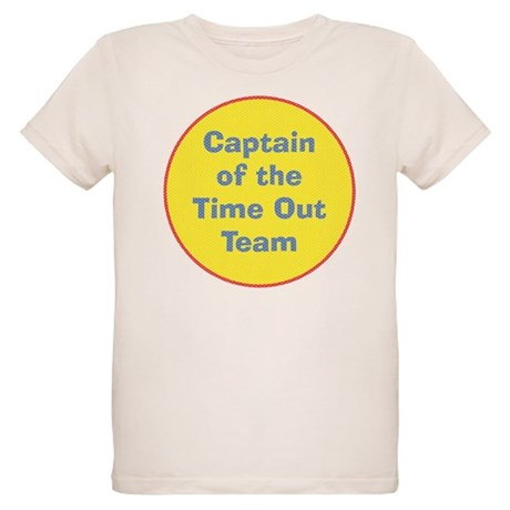 Time Out Team Captain Organic Kids T-Shirt