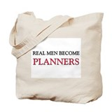 Real Men Become Planners Tote Bag