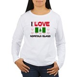 I Love Norfolk Island T-Shirt