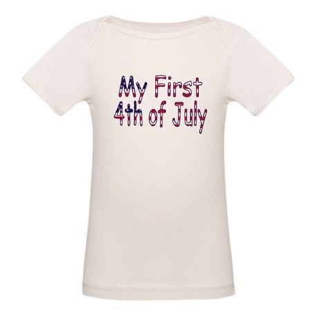 Baby First 4th of July Organic Baby T-Shirt