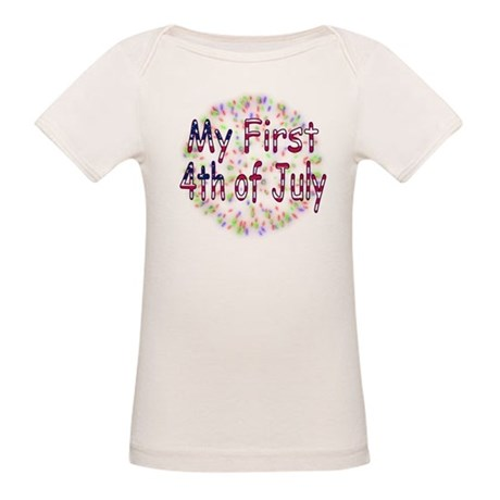 Baby First July 4th Organic Baby T-Shirt