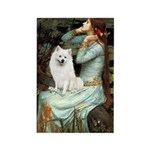 Ophelia / Eskimo Spitz #1 Rectangle Magnet (100 pa