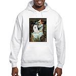 Ophelia / Eskimo Spitz #1 Hooded Sweatshirt