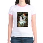 Ophelia / Eskimo Spitz #1 Jr. Ringer T-Shirt