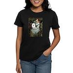 Ophelia / Eskimo Spitz #1 Women's Dark T-Shirt