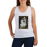 Ophelia / Eskimo Spitz #1 Women's Tank Top