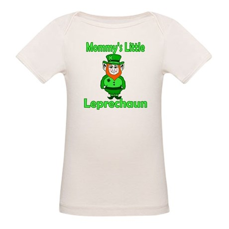 Mommy's Little Leprechaun Organic Baby T-Shirt