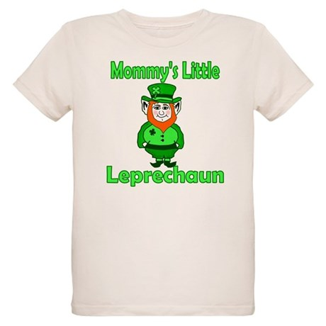 Mommy's Little Leprechaun Organic Kids T-Shirt