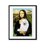 Mona / Eskimo Spitz #1 Framed Panel Print
