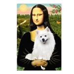 Mona / Eskimo Spitz #1 Postcards (Package of 8)