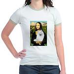 Mona / Eskimo Spitz #1 Jr. Ringer T-Shirt
