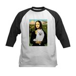 Mona / Eskimo Spitz #1 Kids Baseball Jersey