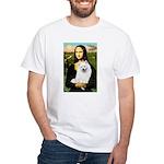 Mona / Eskimo Spitz #1 White T-Shirt
