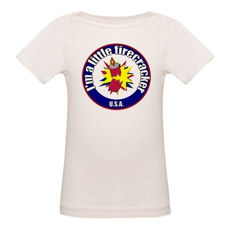 Little Firecracker Organic Baby T-Shirt