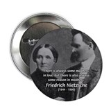 Nietzsche Love Madness Reason 2.25&quot; Button (100 pa