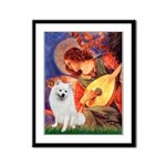 Mandolin / Eskimo Spitz #1 Framed Panel Print