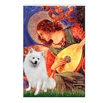 Mandolin / Eskimo Spitz #1 Postcards (Package of 8