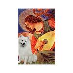 Mandolin / Eskimo Spitz #1 Rectangle Magnet (100 p