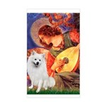 Mandolin / Eskimo Spitz #1 Sticker (Rectangle)