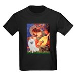 Mandolin / Eskimo Spitz #1 Kids Dark T-Shirt