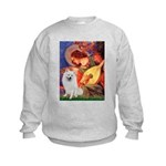 Mandolin / Eskimo Spitz #1 Kids Sweatshirt