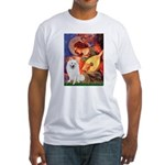Mandolin / Eskimo Spitz #1 Fitted T-Shirt