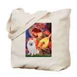 Mandolin / Eskimo Spitz #1 Tote Bag