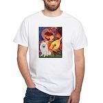Mandolin / Eskimo Spitz #1 White T-Shirt