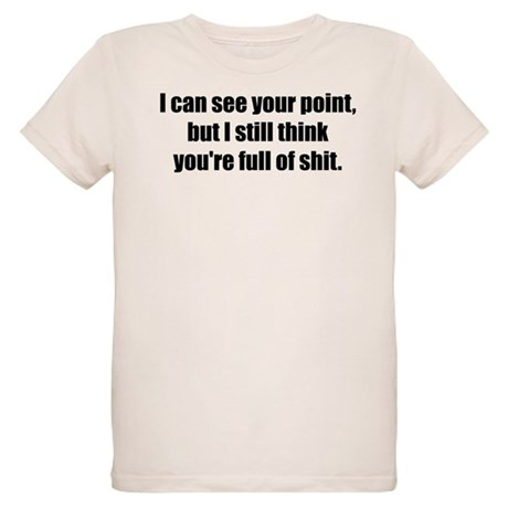 I Can See Your Point Organic Kids T-Shirt