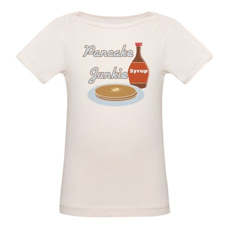 Pancake Junkie Organic Baby T-Shirt