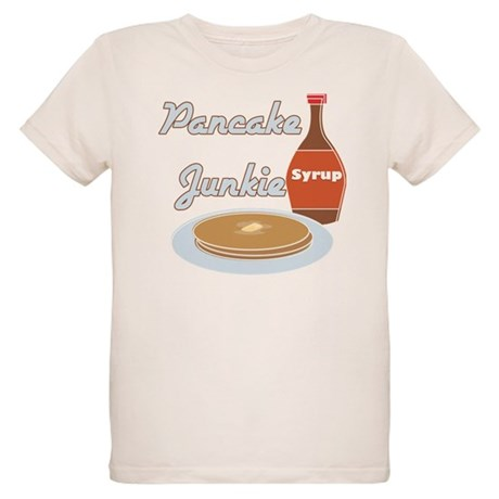 Pancake Junkie Organic Kids T-Shirt