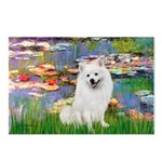 Lilies / Eskimo Spitz #1 Postcards (Package of 8)