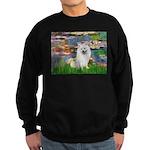 Lilies / Eskimo Spitz #1 Sweatshirt (dark)