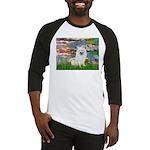 Lilies / Eskimo Spitz #1 Baseball Jersey
