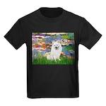 Lilies / Eskimo Spitz #1 Kids Dark T-Shirt