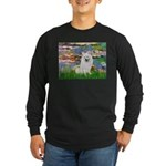 Lilies / Eskimo Spitz #1 Long Sleeve Dark T-Shirt