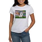 Lilies / Eskimo Spitz #1 Women's T-Shirt