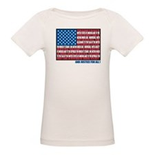Flag Pledge of Allegiance Tee
