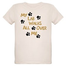 Walking Labrador T-Shirt