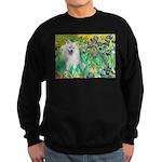 Irises / Eskimo Spitz #1 Sweatshirt (dark)