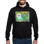 Irises / Eskimo Spitz #1 Hoodie (dark)