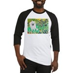 Irises / Eskimo Spitz #1 Baseball Jersey
