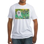 Irises / Eskimo Spitz #1 Fitted T-Shirt