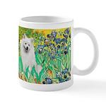 Irises / Eskimo Spitz #1 Mug