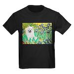 Irises / Eskimo Spitz #1 Kids Dark T-Shirt